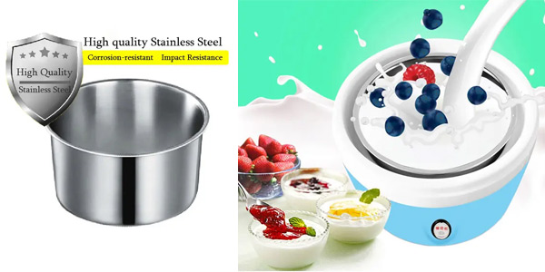 Yogurtera eléctrica chollo en Banggood