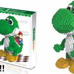 Figura gigante Yoshi y Mario Bross tipo LEGO