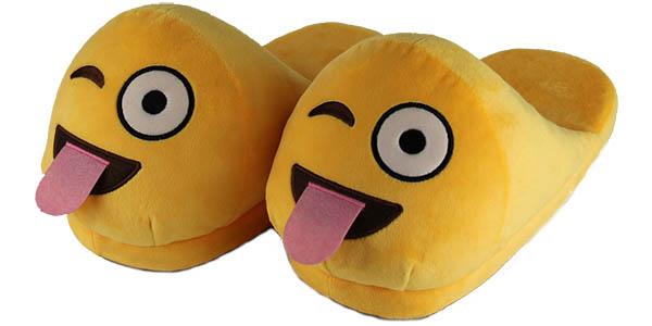 Zapatillas de estar por casa Emoji