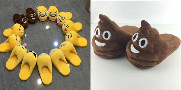 Zapatillas emoticonos baratas