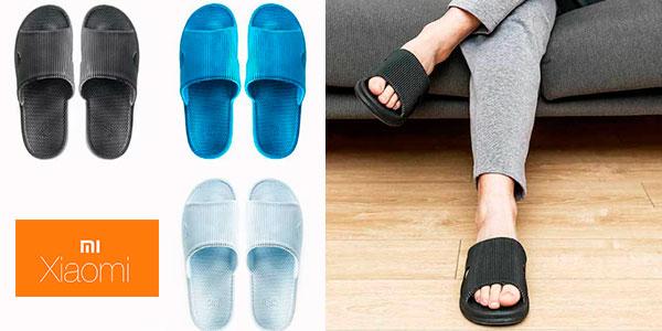 Zapatillas Xiaomi de estar por casa antibacterianas baratas