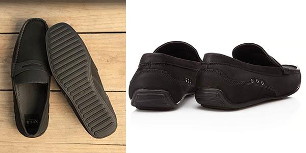Zapatos mocasines en color negro o marrón