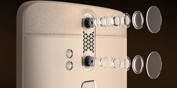 Cámara trasera dual ZTE Axon Elite 4G International Edition